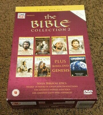 £13.49 • Buy The Bible  Collection 2 Box Set DVD