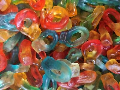 £2.49 • Buy Friendship Rings Sweets Party Wedding Candy Buffet Pick N Mix BEST PRICE