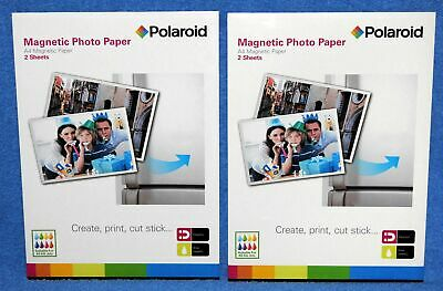 £3.75 • Buy TWO (2x) Packs POLAROID A4 Magnetic Paper