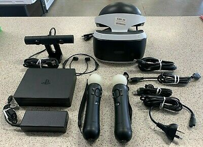 AU325 • Buy Sony PlayStation VR Headset 2nd Gen W/ Move Controllers And Leads  - CUH-ZVR2