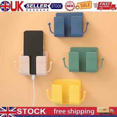 £5.10 • Buy Adhesive Wall Mounted Organizer Remote Control Mobile Phone Charging Plug Holder
