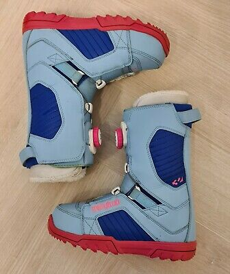£55 • Buy ThirtyTwo / Thirty Two Snowboard Boots - Blue And Pink - Womens - Size 4.5 UK
