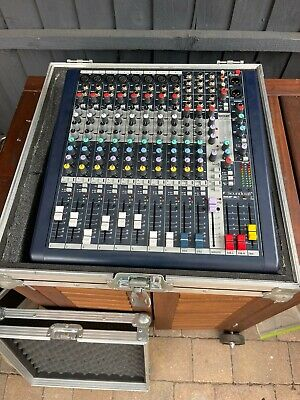 £160 • Buy Soundcraft MFXI8 8 Channel Mixer With Lexicon Processing