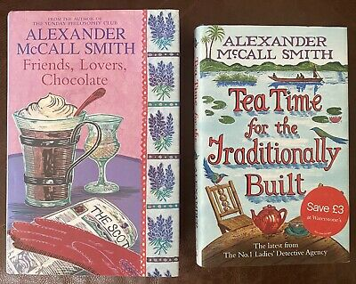 £2.99 • Buy Alexander McCall Smith TeaTime For The Traditionally Built Friends, Lovers Choco
