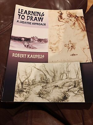 AU1.33 • Buy Dover Art Instruction Ser.: Learning To Draw : A Creative Approach By Robert...