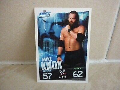 £0.99 • Buy WWE Trading Card Mike Knox. ( Smack Down ) Slam Attax Evolution.