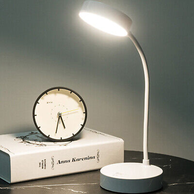 AU19.79 • Buy LED USB Desk Lamp Touch Dimmable Table Night Light Bedside Study Reading Lamp