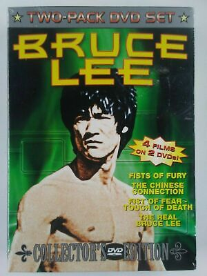 £2.90 • Buy Bruce Lee Collector's Edition - 2 Dvd Set - Four Films
