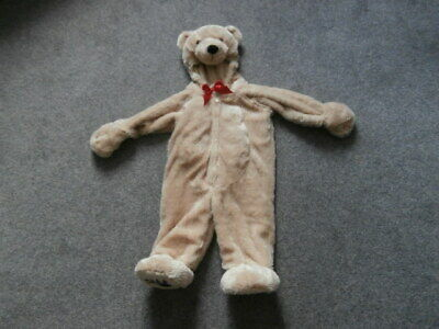 £8.99 • Buy Baby 6-9 MTHS    SOFT Cuddle Bear Costume Toddlers Fancy Dress Brown Teddy NEW