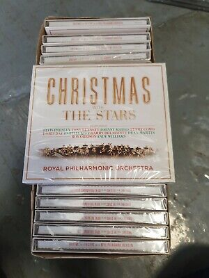 £10 • Buy 21 X CHRISTMAS WITH THE STARS  - NEW SEALED - CD - JOBLOT