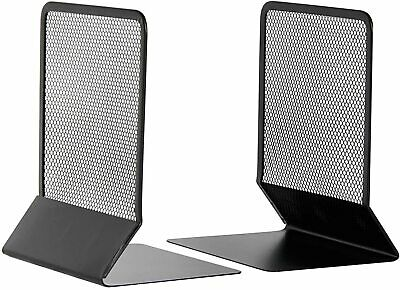£11.99 • Buy Mesh Bookends By Osco  Black In A Pack Of 2