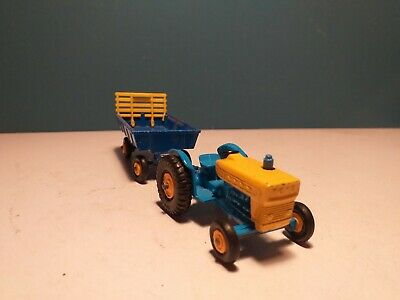 £2.20 • Buy MATCHBOX LESNEY FORD TRACTOR & TRAILER, 39c, C1967