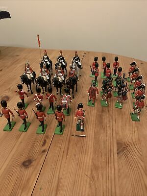 £20 • Buy Britains Toy Soldiers Job Lot 1986 1971 Scots Guard Metal Plastic Collection
