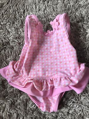 £0.99 • Buy Baby Girls 0-3 Months Swimsuit