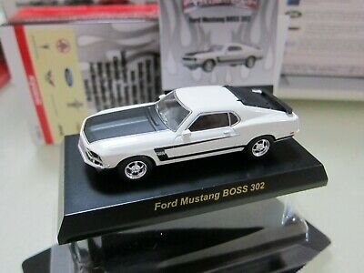 AU13.46 • Buy Kyosho - USA Collection 2 - Ford Mustang BOSS 302 - White 1/64 Mini Car - E8