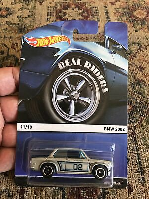 AU10.09 • Buy Hot Wheels BMW 2002 Heritage Real Riders Series New 1:64 Silver