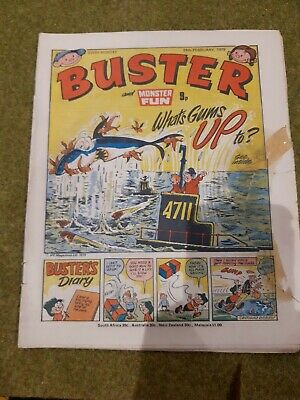 £0.99 • Buy Vintage Buster Comic 24th February 1979