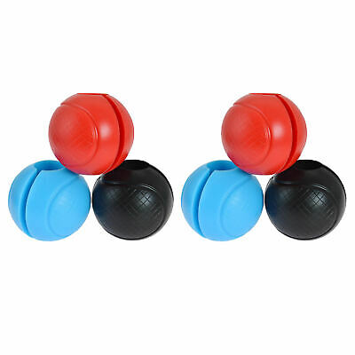 AU24.24 • Buy 1 Pair Thick Fat Ball Barbell Grips Gym Muscle Dumbbell Grip Turns Bar Grips