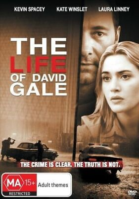 AU8.90 • Buy THE LIFE OF DAVID GALE New Dvd KEVIN SPACEY KATE WINSLET ***