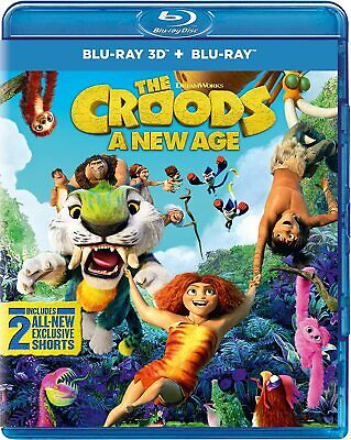 £17.99 • Buy The Croods: A New Age  Limited Edition Colour-In Sloth Mask) [Blu-ray 3D)