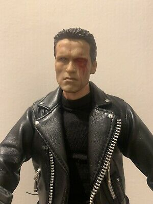 £85 • Buy 1/6 Scale Terminator T-800 T800 T2 Figure With Stand Arnold Judgment Day