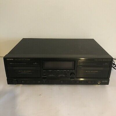 £29.99 • Buy AIWA Stereo Double Cassette Deck AD-WX828 HiFi Separate Player Recorder High End