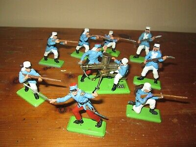 £24.99 • Buy  Vintage Britains Deetail French Foreign Legion Plastic Toy Soldiers 1/32 Scale