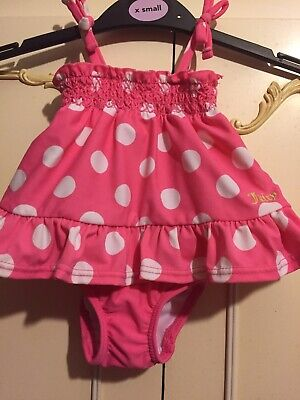 £1.95 • Buy Juicy Couture Pink Swimming Costume Age 0–3 Months.