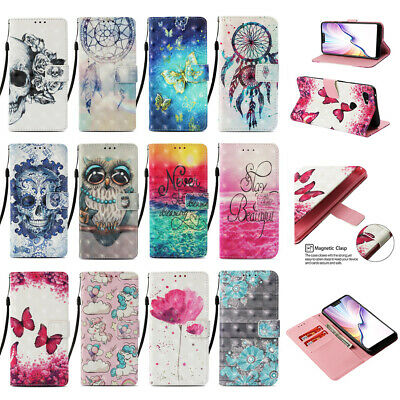 AU3.13 • Buy For IPhone 13 12 11 XR SE 6s 7 8 Magnetic Wallet Card Holder Leather Case Cover