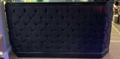 £200 • Buy Shop Counter Black With Fabric Front