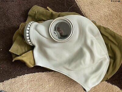 £4.99 • Buy Gas Mask Russian Used Small, With Original Canvas Bag, Fetish