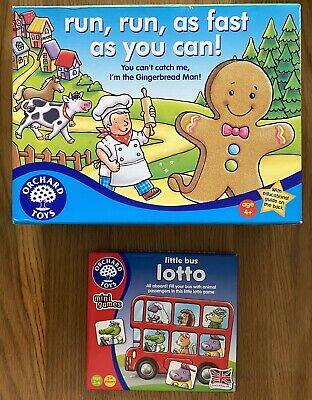 £5.99 • Buy Orchard Toys Run Run As Fast As You Can Little Bus Lotto