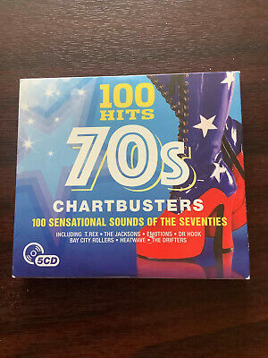 £0.99 • Buy 100 Hits 70's Chartbusters - 100 Sounds Of The 70's - 5 Cds