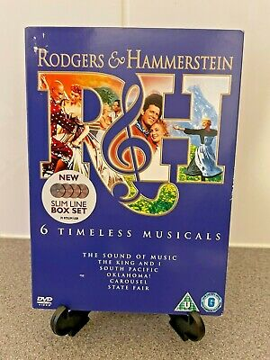 £5.99 • Buy Rodgers And Hammerstein: 6 Timeless Musicals DVD (2008) Gordon MacRae, King