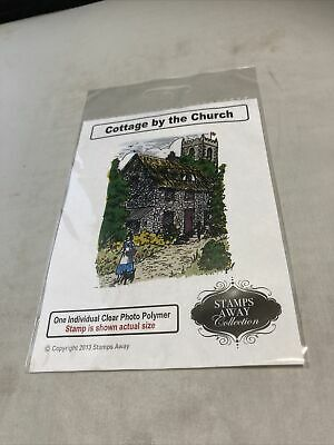 £2.99 • Buy Stamps Away Collection Cottage By The Church Clear Stamp- New