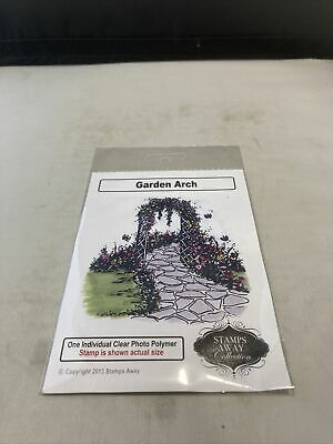 £2.99 • Buy Stamps Away- Garden Arch - Clear Stamp- New