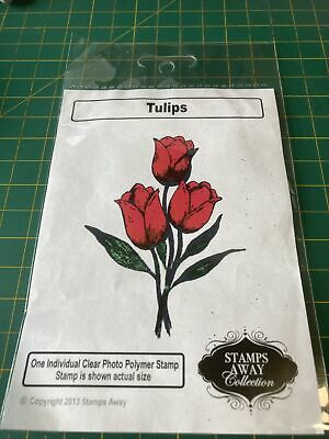 £2 • Buy Stamps Away Tulip- New Clear Stamps