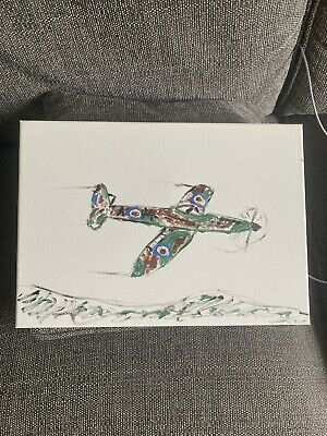 £9 • Buy Spitfire Painting (abstract)