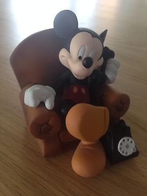£196.79 • Buy Extremely Rare! Walt Disney Mickey Mouse In His Chair Demons Merveilles Statue