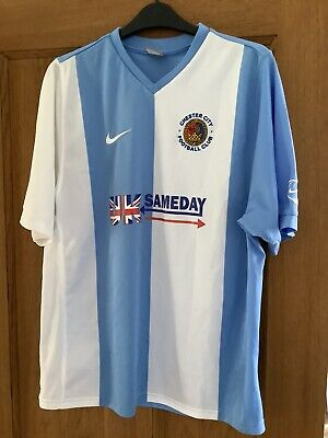 £25 • Buy Chester City FC 2007 2008 Home Shirt Size M