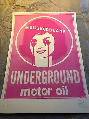 £99 • Buy Pure Evil - Hollywoodland - Limited Edition Print