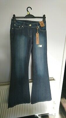 £20 • Buy Dorothy Perkins Super Flare Jeans 10 Long New With Tags