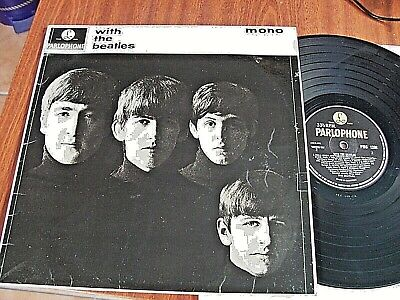 £17.99 • Buy The Beatles LP  With The Beatles  Vg/Ex Y/B Parlophone PMC 1206 From 1963