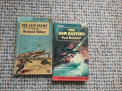 £1.49 • Buy 2 Classic Pan War Books The Dam Busters & The Last Enemy