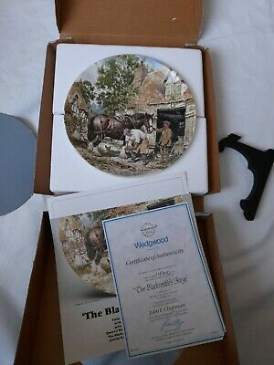 £7.50 • Buy Wedgewood Life On The Farm Collection. The Blacksmiths Forhe Collectors Plate