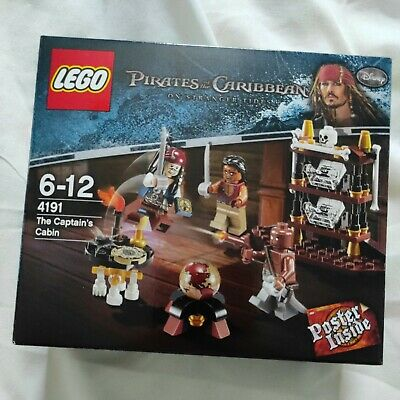 £38 • Buy LEGO 4191 Pirates Of The Caribbean - The Captain's Cabin