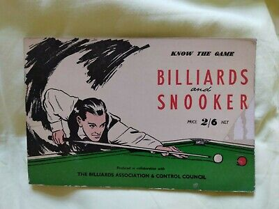 £1.50 • Buy Know The Game: Billiards And Snooker