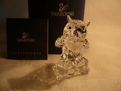 £90 • Buy Swarovski Bambi Series Friend The Owl  Boxed And Certificate