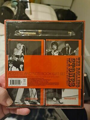 £6.50 • Buy The Rolling Stones Addresse Book And Notebook Gift Set