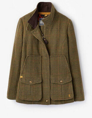 £95 • Buy Joules Tweed Fieldcoat Size 8 Mr Toad Excellent Condition